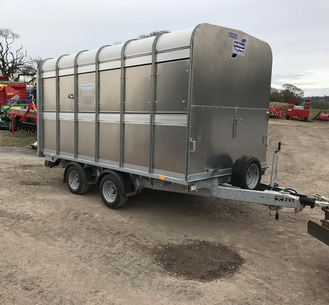 Ifor Williams Demountable Livestock Trailer