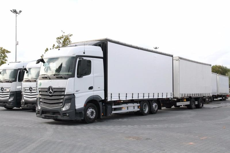 Mercedes-Benz JUMBO SET ACTROS 2542 E6 BDF MEGA LOW DECK