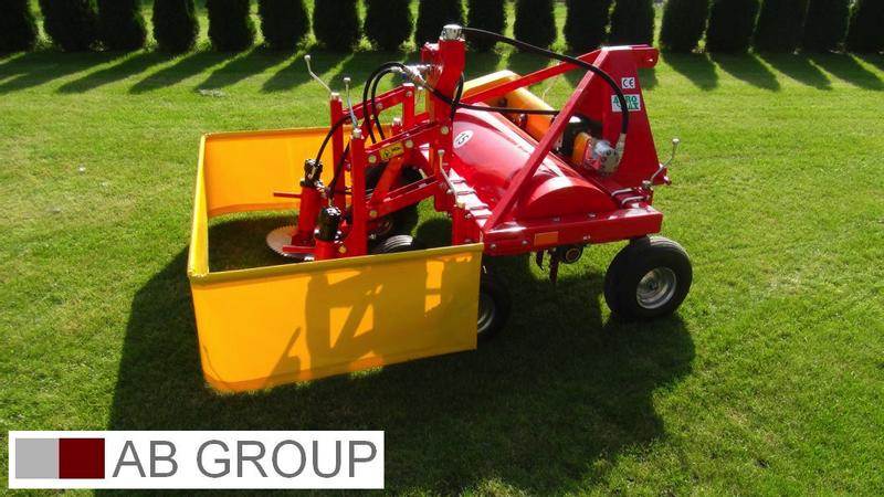 AGROMAX Carrot top mower with greens crusher/Tondeuse pour fanes