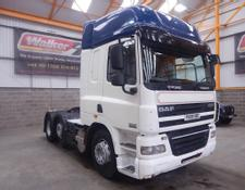 Daf CF85 460 EURO 5, 6 X 2 FTP SPACE CAB TRACTOR UNIT - 2009 - PX09 XRC