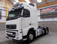 Volvo FH GLOBETROTTER XL 460 EURO 5, 6 X 2 TRACTOR UNIT - 2010 - YP60 HRL