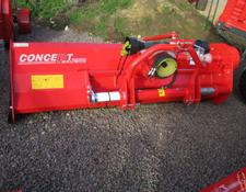 PROFORGE POWERCUT 240, Peruguini 2.4 metre Flail, New, hyd side shift,