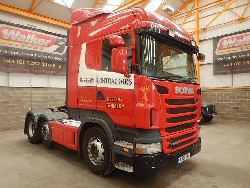 Scania R440 HIGHLINE 6 X 2 TRACTOR UNIT - 2011 - AD61 VKT