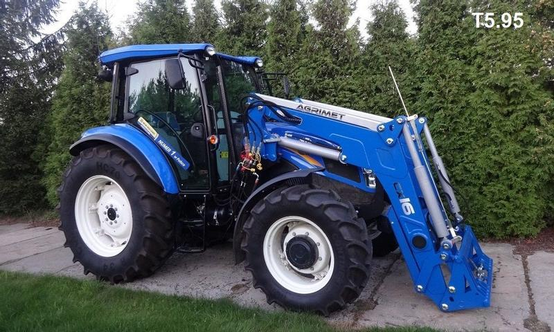 AGRIMET New Holland T4 T5 T6 TD5060 T5030 TL TS T6070 Power