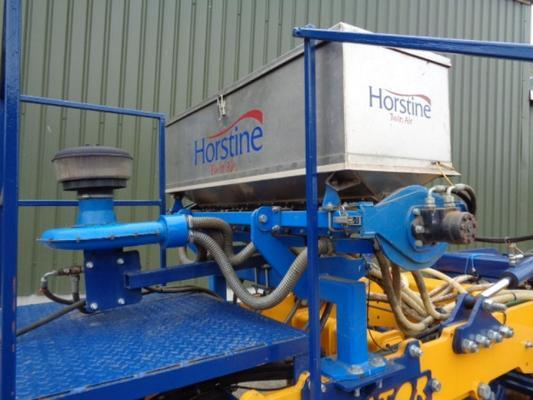 Hoppers Used Horstine Twin Air Rape Seeder + Slug Applicat