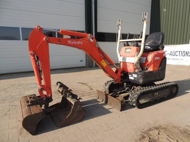 Kubota U10-3 Mini Graafmachine