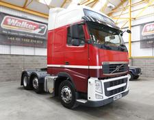 Volvo FH GLOBETROTTER XL 460 EURO 5, 6 X 2 TRACTOR UNIT - 2013 - KM63 SPX