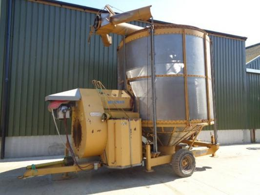 Used Mecmar 20 Tonne Drier