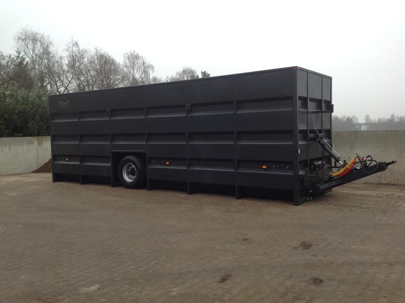 Güllecontainer Feldrand 70 cbm3
