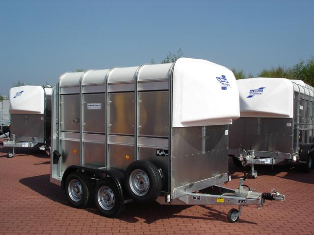 Ifor Williams Iforwilliams Viehtransporter 156x241x183cm 2,7t