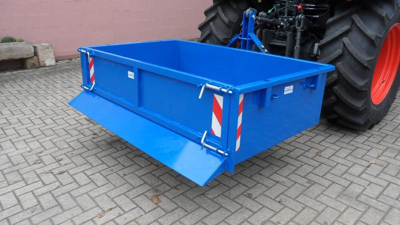 BOTEC Heckcontainer 1500kg HC180-110-40-40-1500kg