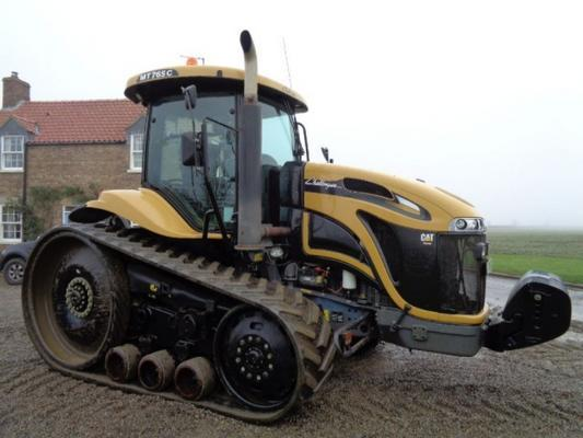Caterpillar Used Cat Challenger 765C Rubber tracked